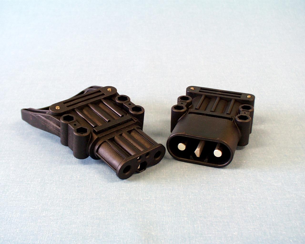 信号2p・パワー2p バッテリーコネクタ