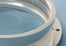 内径φ250大容量100Mhz 同軸コネクター用 GNDリング