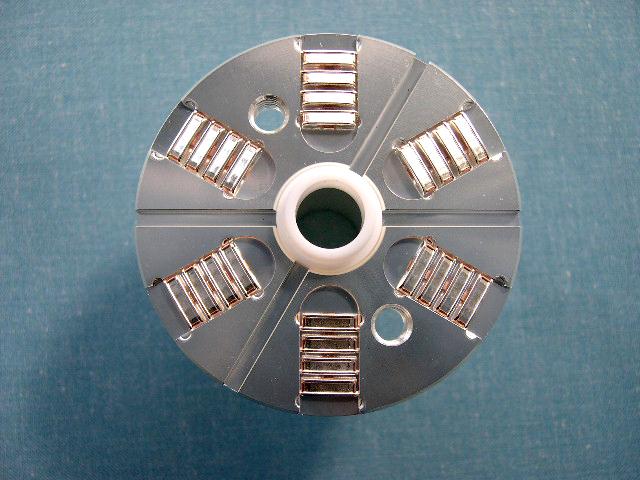 外形φ100 大容量RF中心電極 スライド面接触